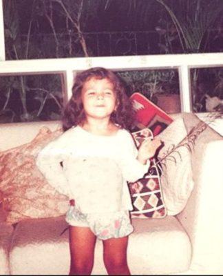 Alia bhatt-childhood pic