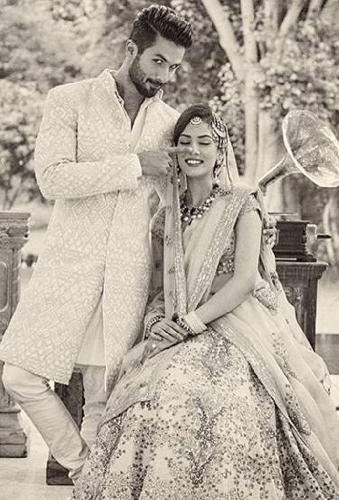 Shahid-Mira's candid shot