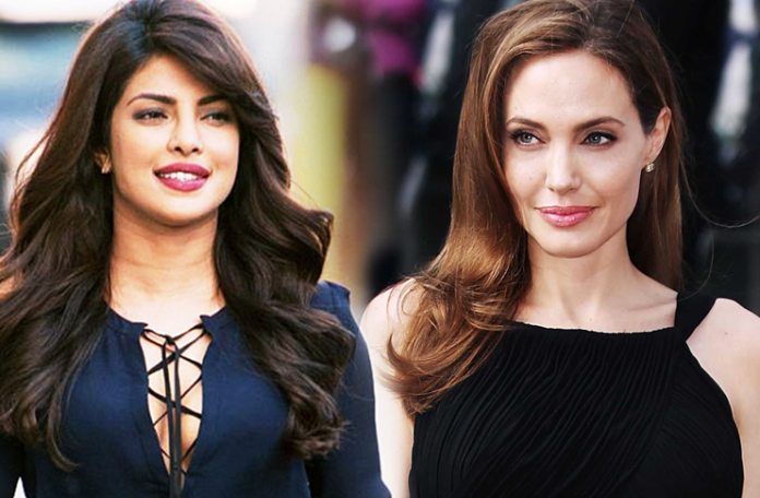 priyanka chopra vs Angelina Jolie