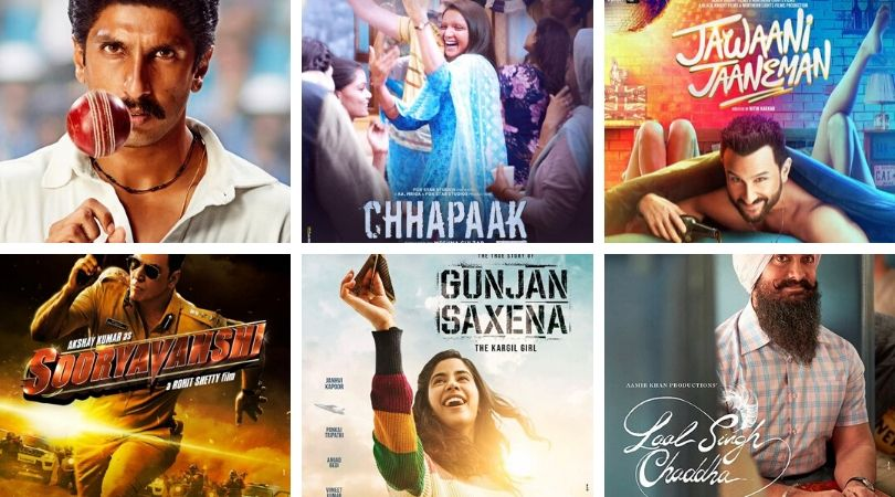 Bollywood movies 2019 and 2020