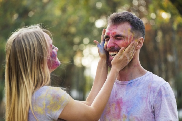 Holi wishes for wife