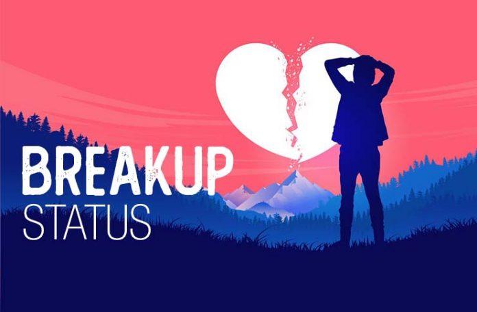 breakup sad status images